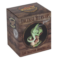 Green Dragon Incense Cone Holder - Anne Stokes (AW1433)