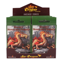 Golden Mountain Incense Cones (Pack of 6) Anne Stokes (AW1436)