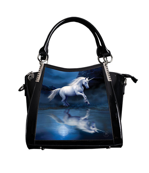 Moonlight Unicorn (3D) Handbag - Anne Stokes (AW105)