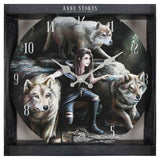 Power of Three (Wall Clock) Anne Stokes (AW521)