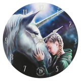 The Wish (Wall Clock) Anne Stokes (AW526)