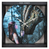 Once Upon A Time (Wall Clock) Anne Stokes (AW524)