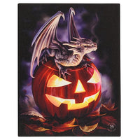 Trick or Treat Canvas - Anne Stokes (AW433)