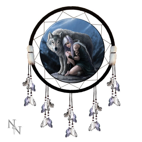 Protector Dream Catcher - Anne Stokes (AW156)