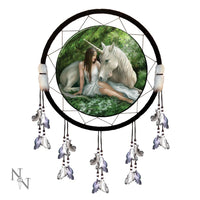 Pure Heart Dream Catcher - Anne Stokes (AW162)