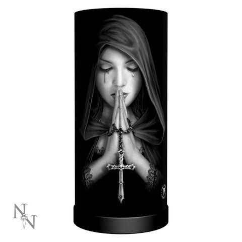 Gothic Prayer Lamp - Anne Stokes (AW90)