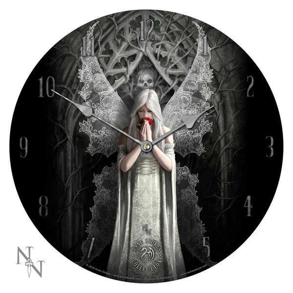 Only Love Remains Clock - Anne Stokes (AW151)