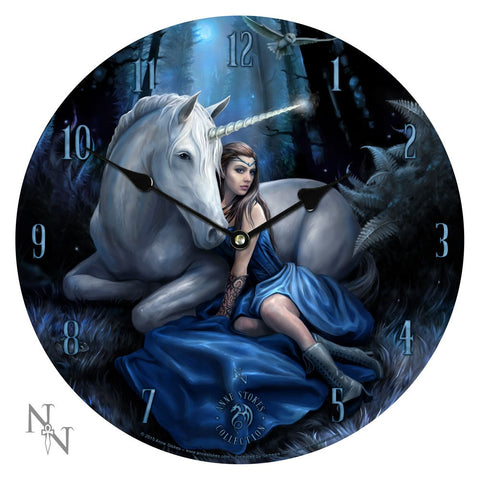 Blue Moon Clock - Anne Stokes (AW75)