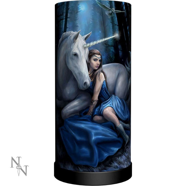 Blue Moon Lamp - Anne Stokes (AW78)