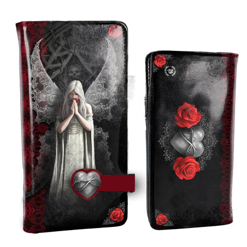 Only Love Remains Embossed Purse - Anne Stokes (AW153)