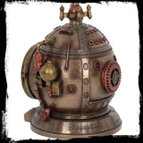Mechanics of Time Trinket Box/Clock - Steampunk (AW347)
