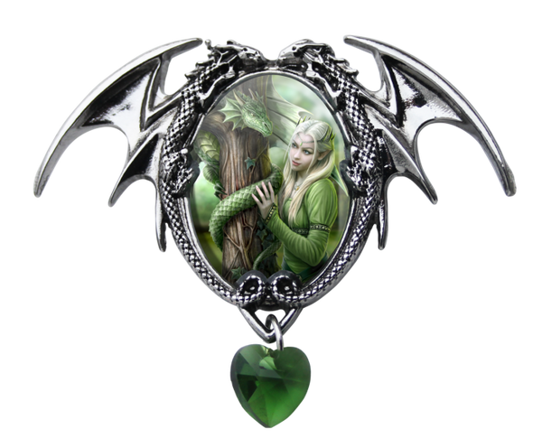 Kindred Spirits Pendent - Anne Stokes (AW717)