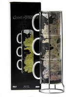 Stackable Mugs (Set of 3) Westeros Game of Thrones