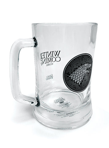 House Stark Glass Stein - Game of Thrones (AW1216)
