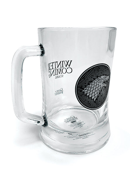 House Stark Glass Stein - Game of Thrones
