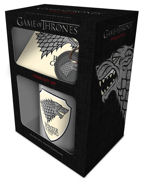 Stark House (Gift Set) Mug - Game of Thrones (AW1090)