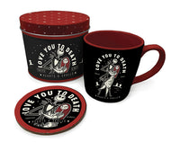 Love You To Death (Mug Tin Set) Nightmare before Xmas (AW689)