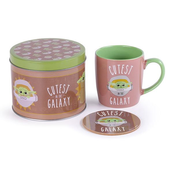 Cutest in The Galaxy (Mug Tin Set) Star Wars (AW1003)