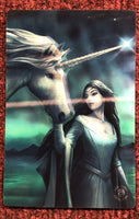 North Star 3D Postcard - Anne Stokes (AW792)