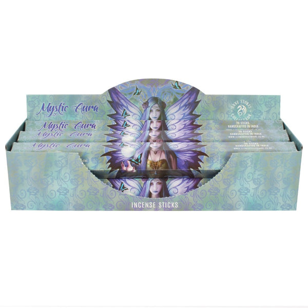 Mystic Aura Incense Sticks (Pack of 6) Anne Stokes (AW1440)