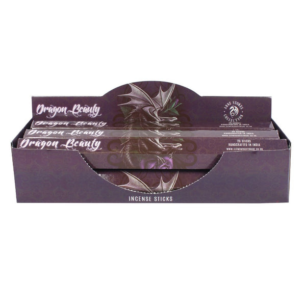 Dragon Beauty Incense Sticks (Pack of 6) Anne Stokes (AW1444)