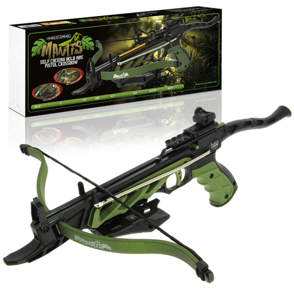 Mantis (Self Cocking Crossbow) Aluminium 80LB (AW571)