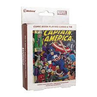 Captain America (Marvel Comic Book) Playing Cards (AW1365)