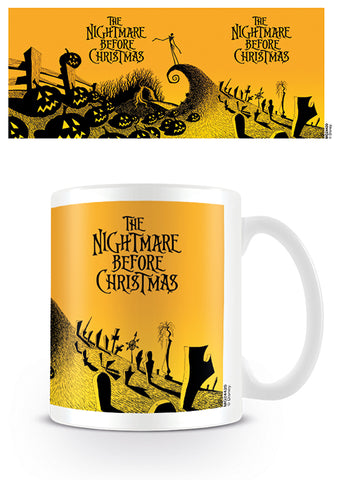 Nightmare Before Christmas Graveyard Mug (AW1409)