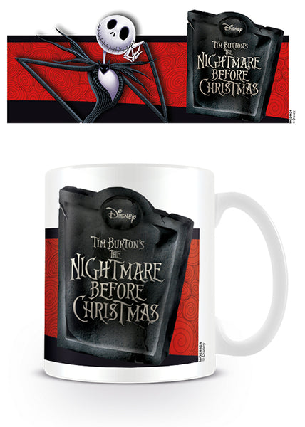 Nightmare Before Christmas Jack Banner Mug