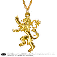 Lannister Pendant Gold Plated Sterling Silver