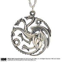 Targaryen Pendant Sterling Silver - Game of Thrones
