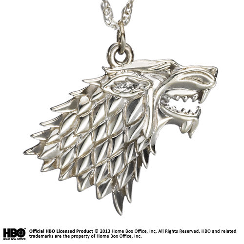 Stark Pendant Sterling Silver - Game of Thrones