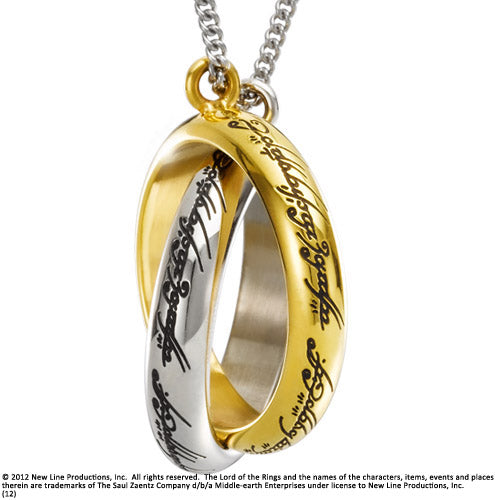 One Rings Entwined Necklace - Lord of the Rings