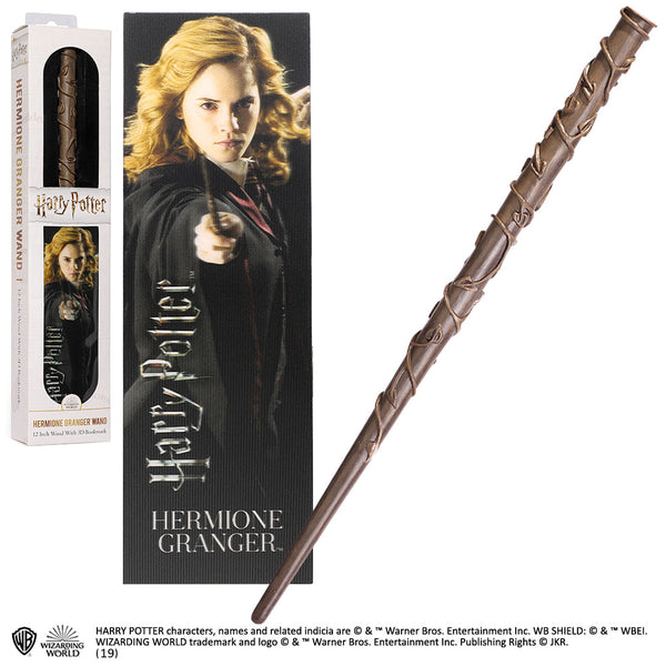 Hermione Granger Wand & Bookmark (AW1688)