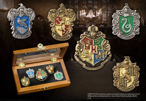 Hogwarts House Pins - Harry Potter (AW1179)