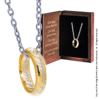 One Ring - Gold Plated Sterling Silver - Lord of the Rings