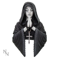 Gothic Prayer Wall Plaque - Anne Stokes (AW88)