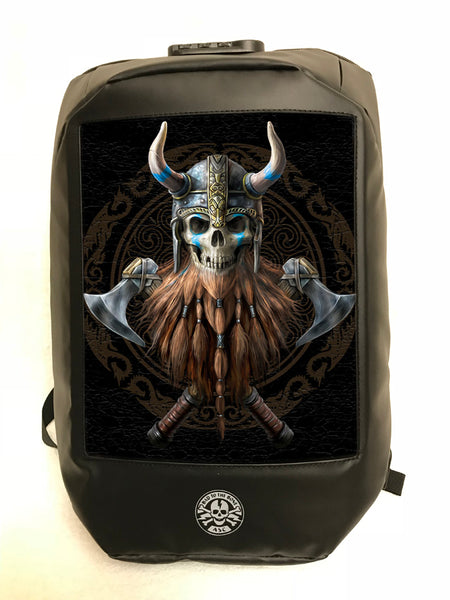 The Viking 3D Backpack (Bad to the Bone) Anne Stokes (AW684)
