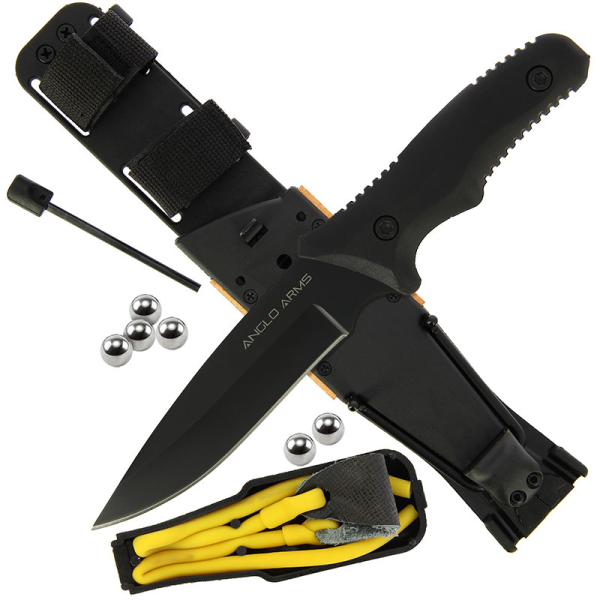 Fixed Blade Survival Kit Knife (AW176)
