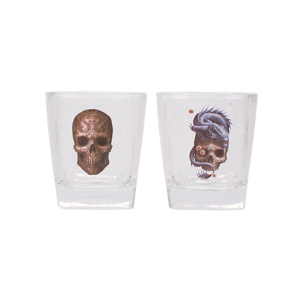 Glass Tumblers (Set of 2) Anne Stokes