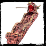Ashes of Vermillion Incense Burner Dragon(AW448)
