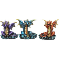 Three Wise (Set of 3) Dragons  (AW410)