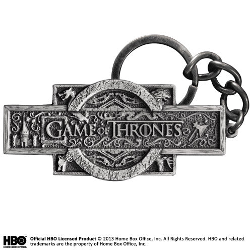 Game of Thrones Opening Logo Sequence Keyring