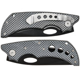 Carbon Fibre Effect Lock Knife (AW1084)