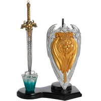 Dragon Shield & Lion Sword Letter Opener (AW1396)