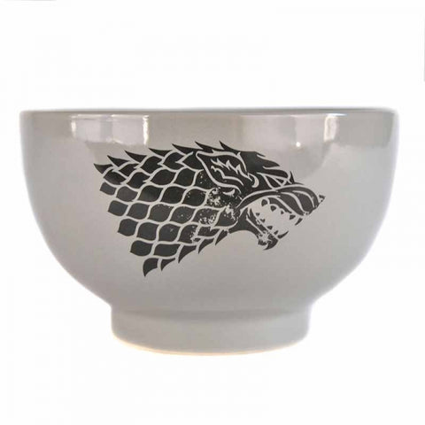 Game of Thrones Stoneware Stark Bowl (AW984)