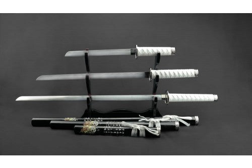 Black & White Samurai Set of 3 (AW1280)