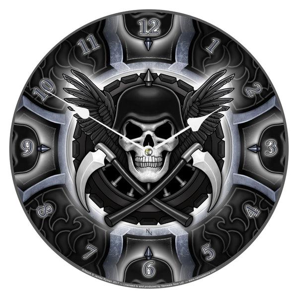 Biker Clock - James Ryman (AW612)