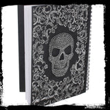 Baroque Skull Book & Pen (AW752)