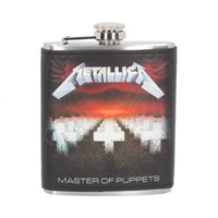 Metallica Master of Puppets Hip Flask